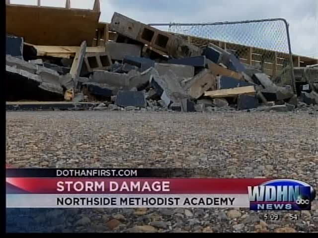 Picking up the pieces at Northside Methodist Academy_16313439-159532