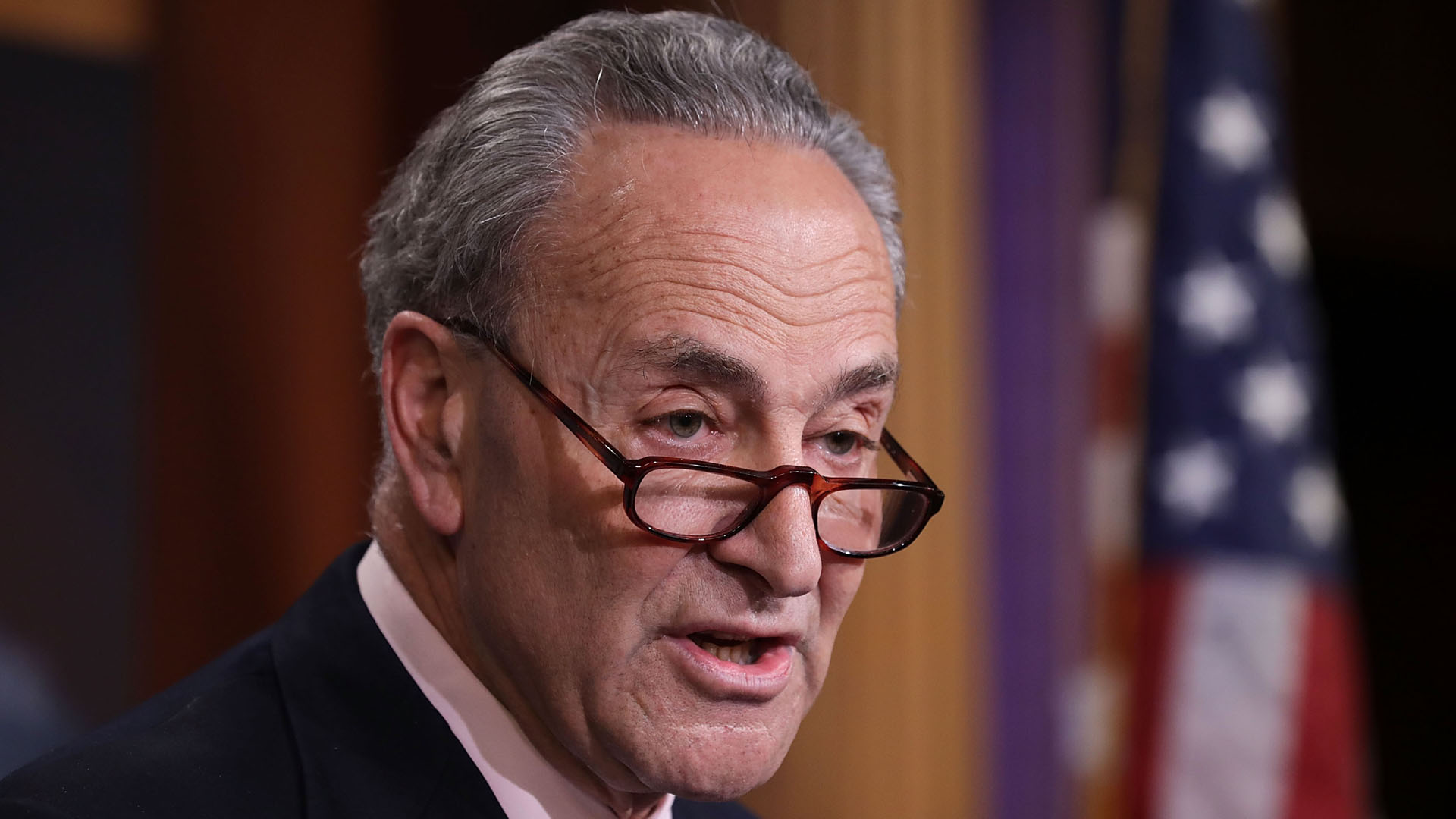 Chuck Schumer speaks on Capitol Hill05477352-159532