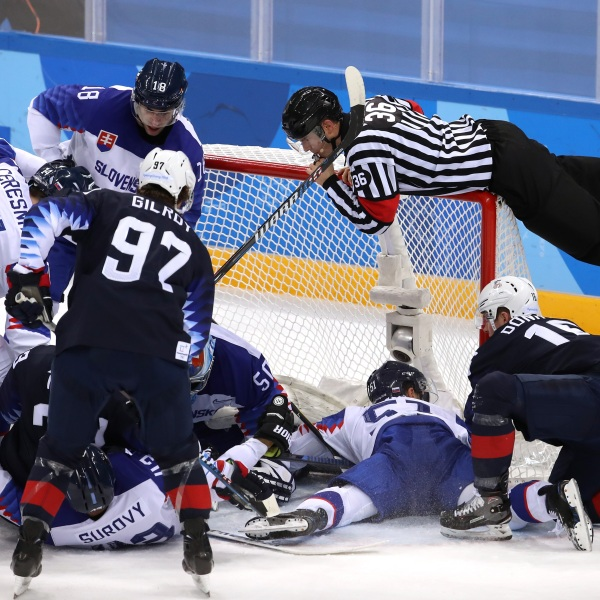 Team USA Hockey vs Slovenia 1-54729046