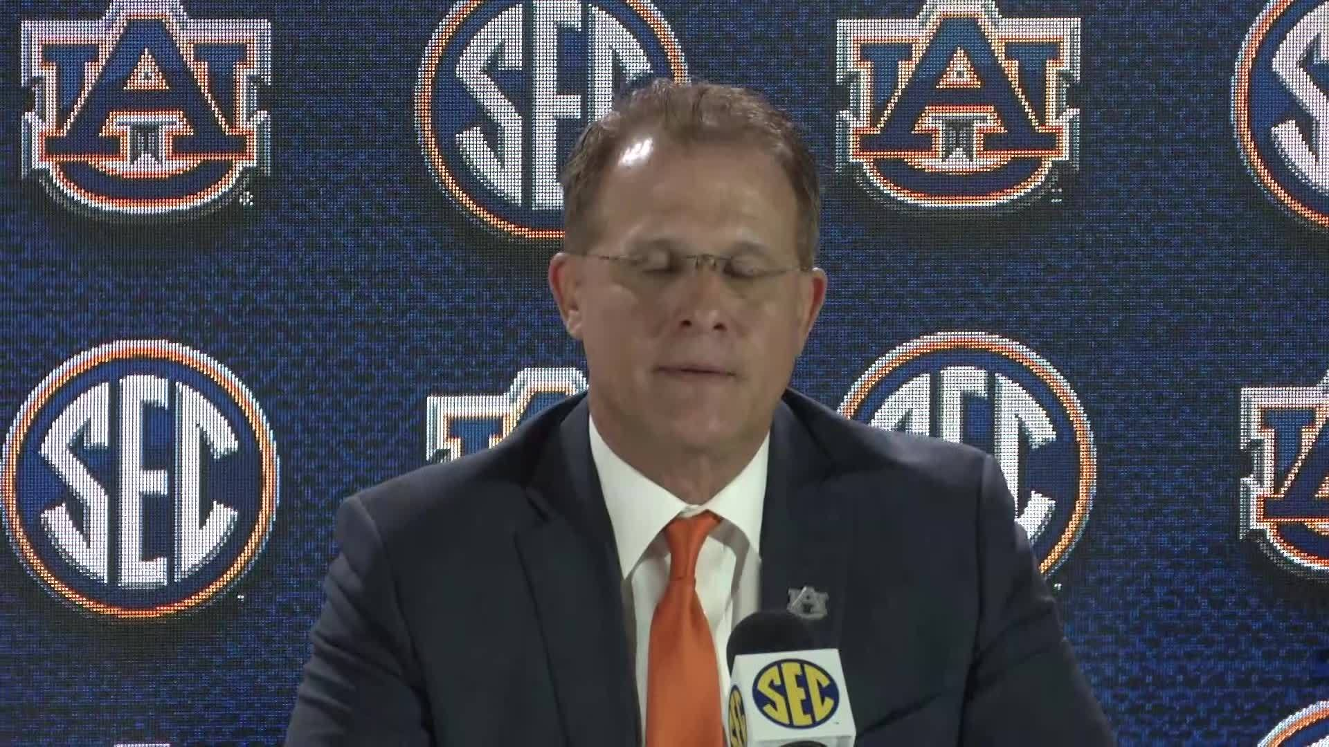 Gus Malzahn speaks on rivals, schedule