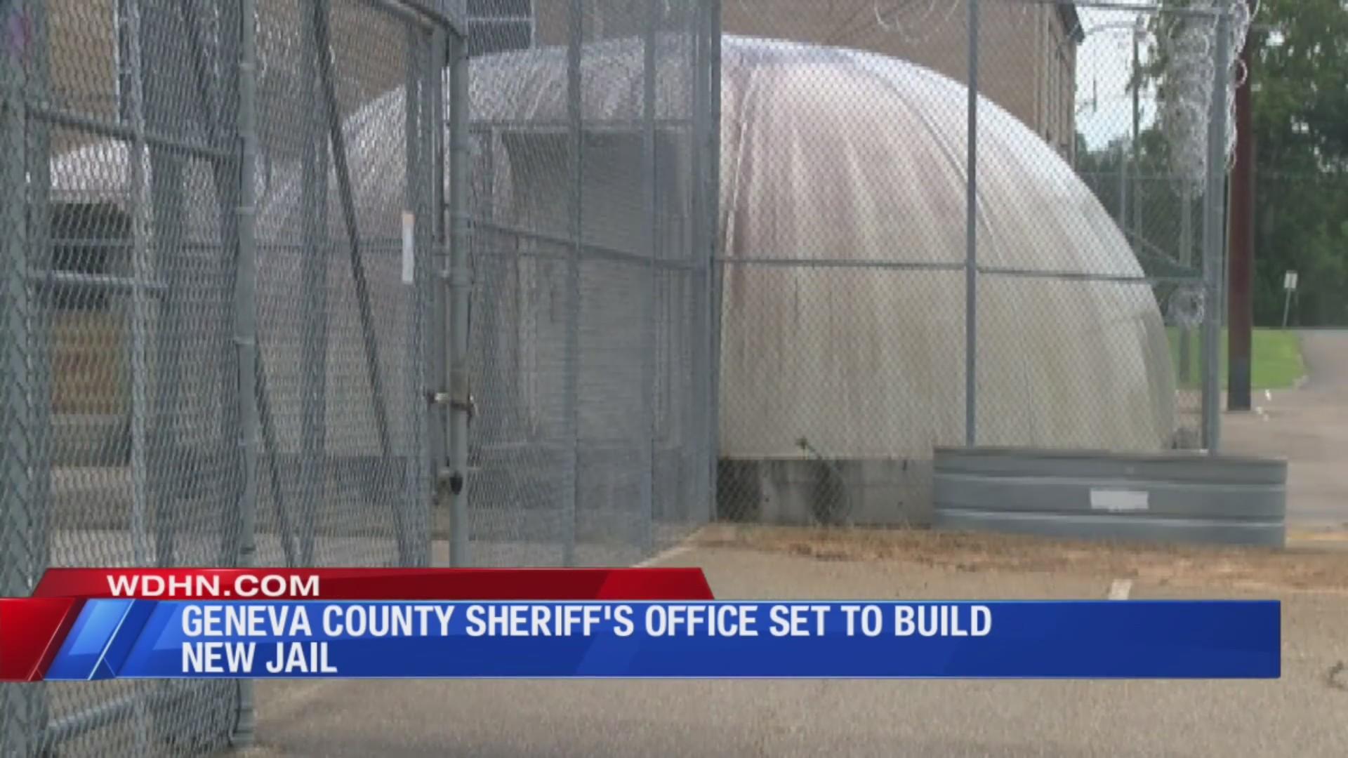 Geneva County Sheriff's Office building new jail