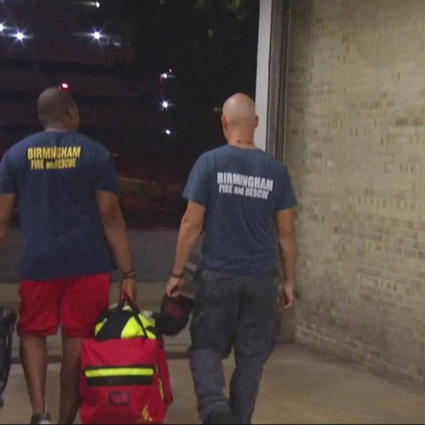 Birmingham Fire & Rescue lend helping hand after storm