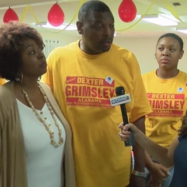 Dexter Grimsley election victory