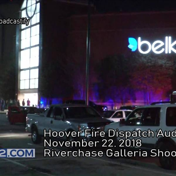 Hoover Fire Dispatch Audio from Galleria Shooting