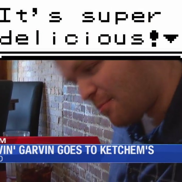 Starvin' Garvin goes to Ketchum's