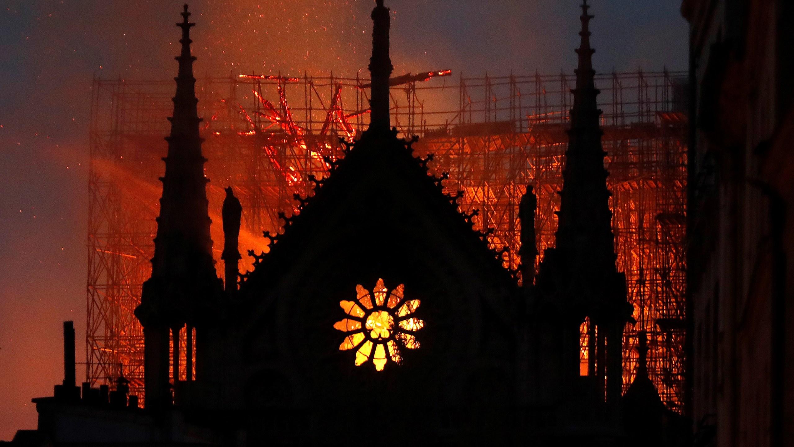 APTOPIX France Notre Dame Fire_1555363400439
