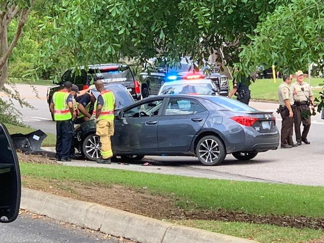 North Carolina murder suspect crashes in high speed chase