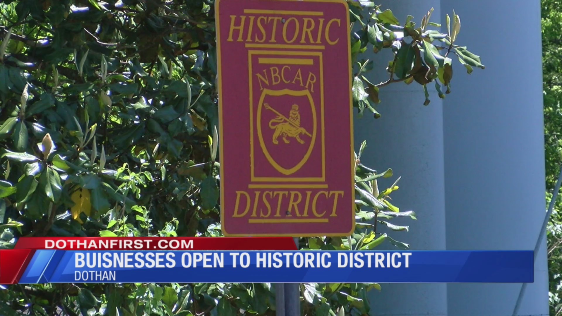 Histroric District of Downtown Dothan Open for Business