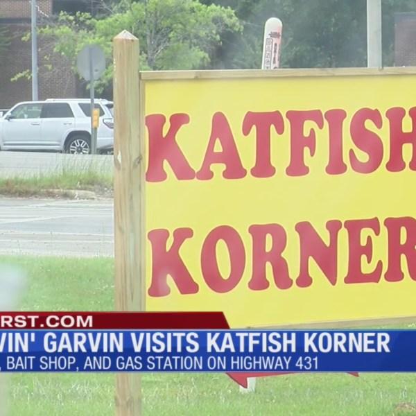 Starvin' Garvin Visits Katfish Korner