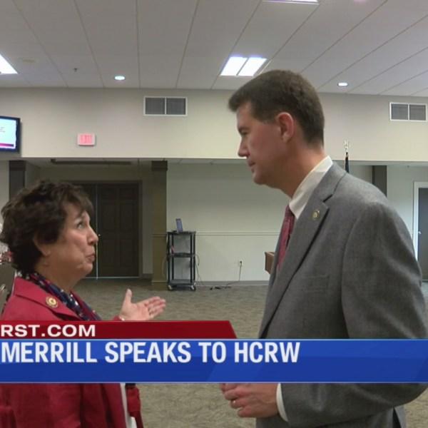 State Secretary visits Houston County Republican Women