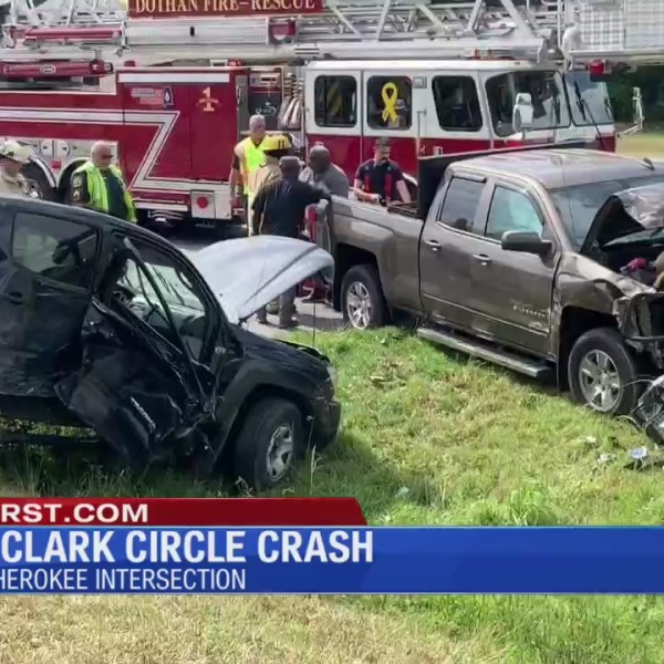 Crash on the Ross Clark Circle