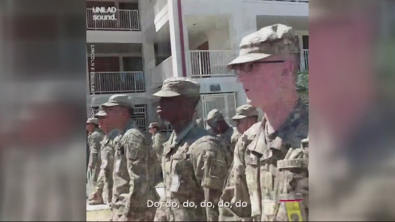 Fort Gordon Sergeant leads marches to Baby Shark song