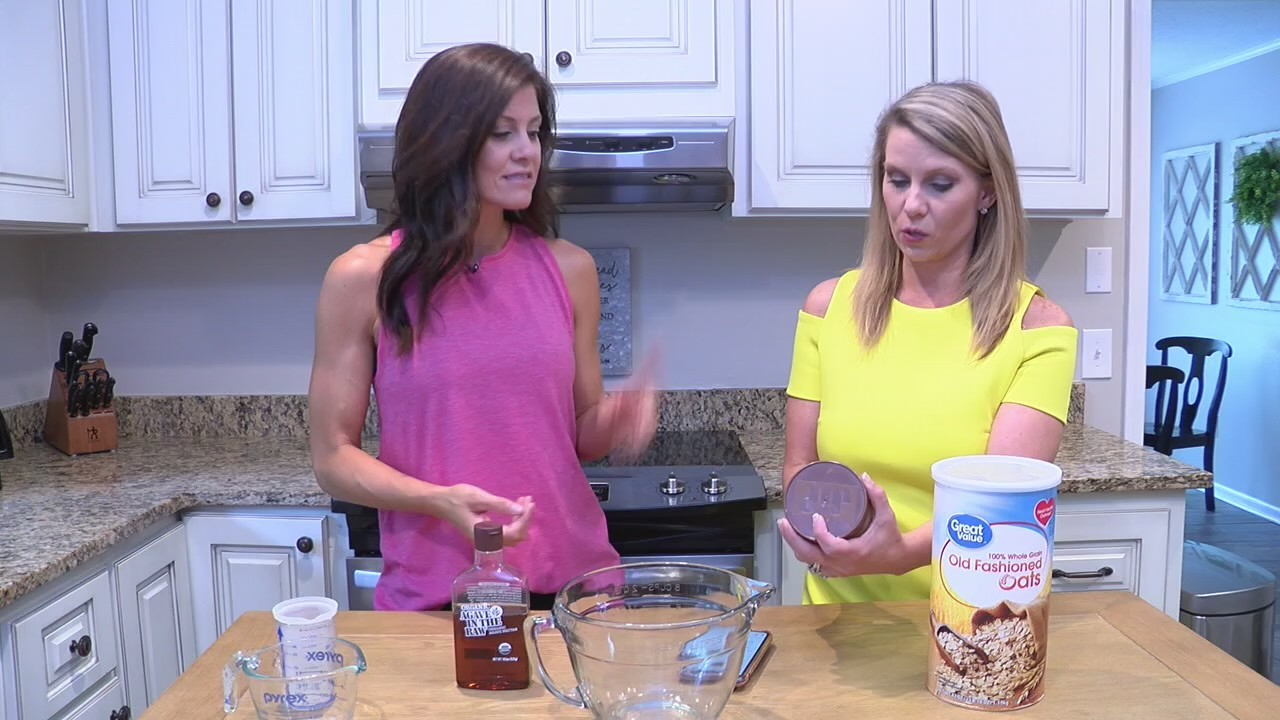 Cara shows us how to make an easy on-the-go health snack