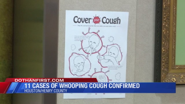 11 cases of whooping cough confirmed; six originating from Extendicare