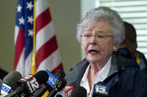 Gov. Kay Ivey discusses important issues facing Alabama