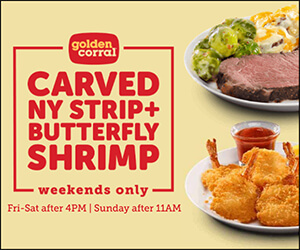 Golden Corral 300x250