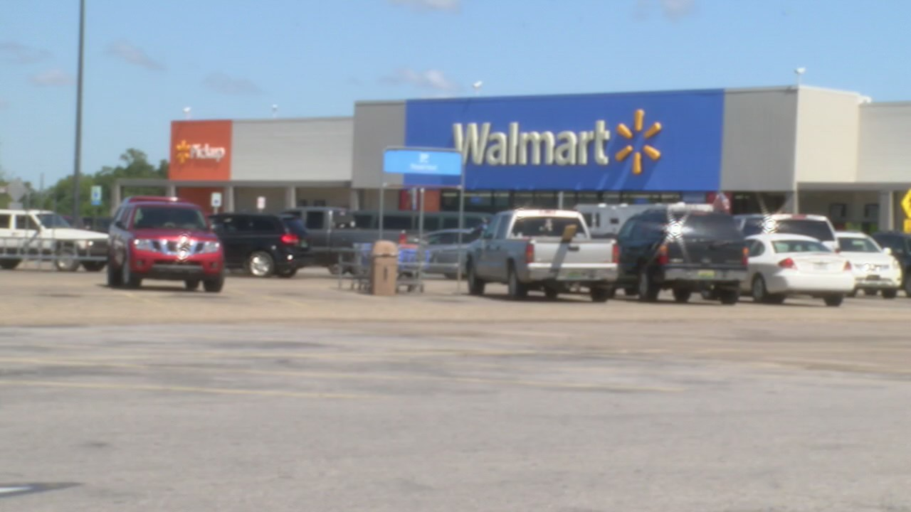Baby left in car at Geneva Walmart