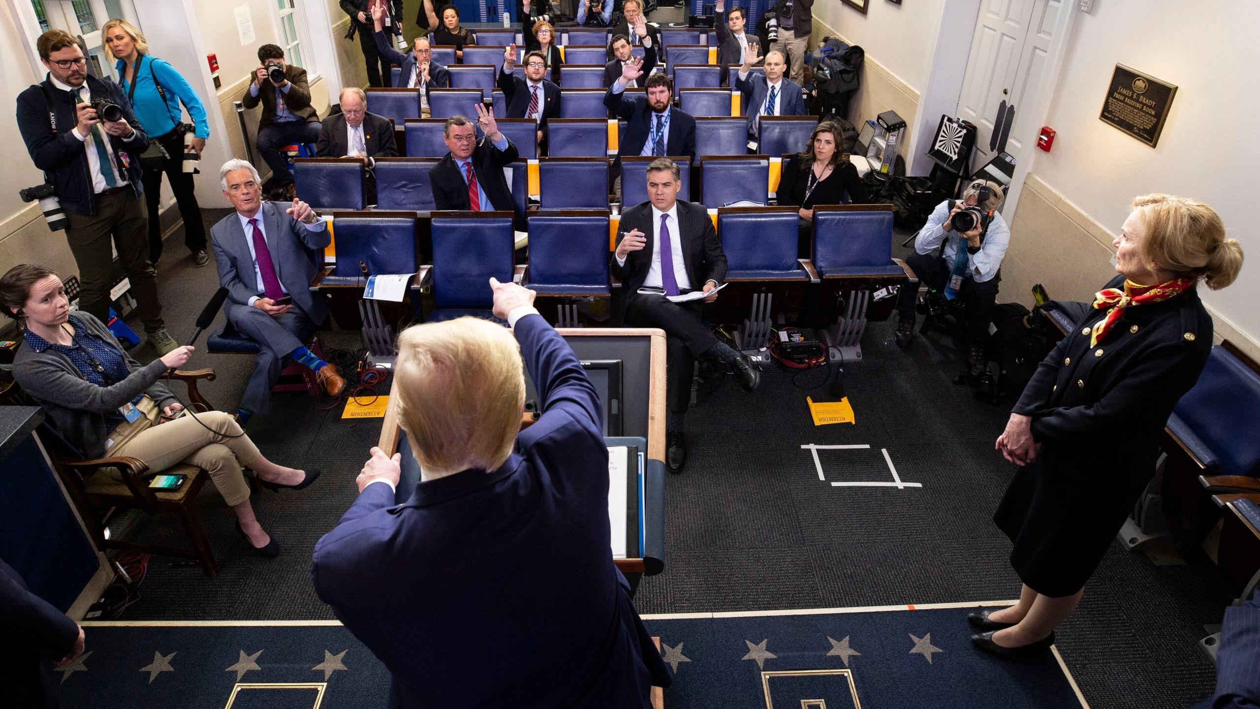 Donald Trump, Deborah Birx