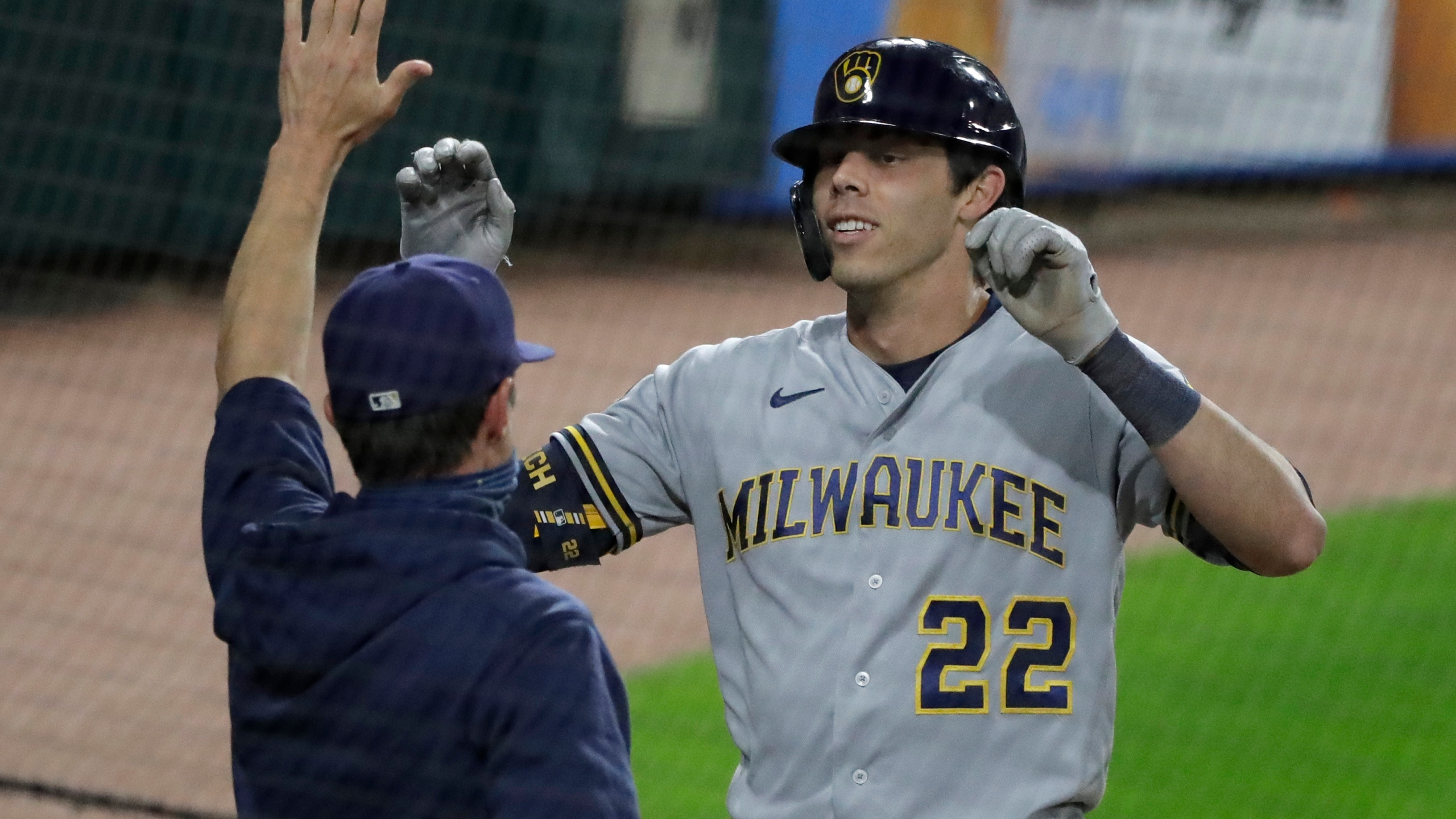 Christian Yelich, Craig Counsell