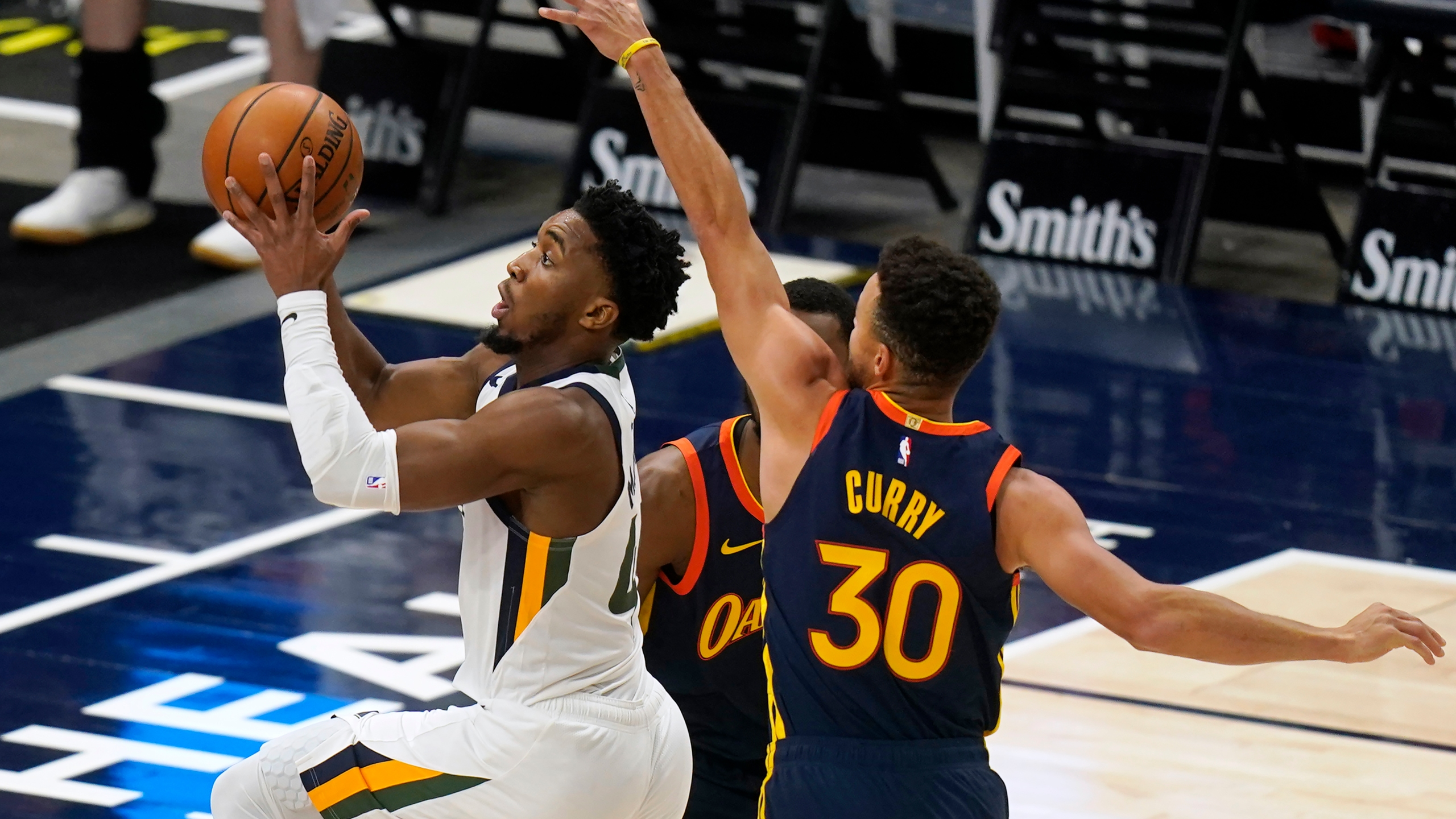 Donovan Mitchell, Stephen Curry